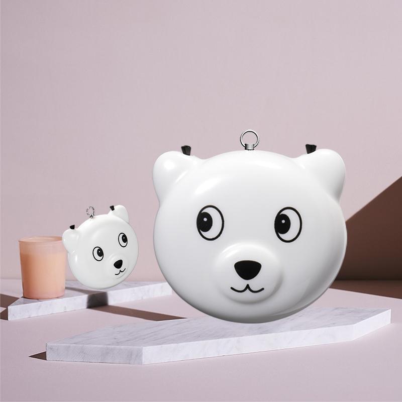 Cute Little Bear / Pig Shape Portable Children's Wearable Low Noise Household Small Negative lons Air Purifier