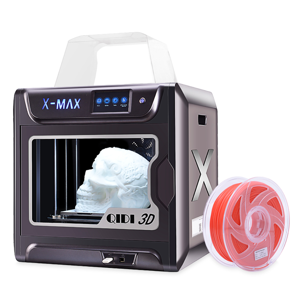 QIDI TECH X-MAX Large Size Industrial WiFi High Precision Printing with PLA TPU PC PETG Nylon 3D Printer Ship from UK Warehouse
