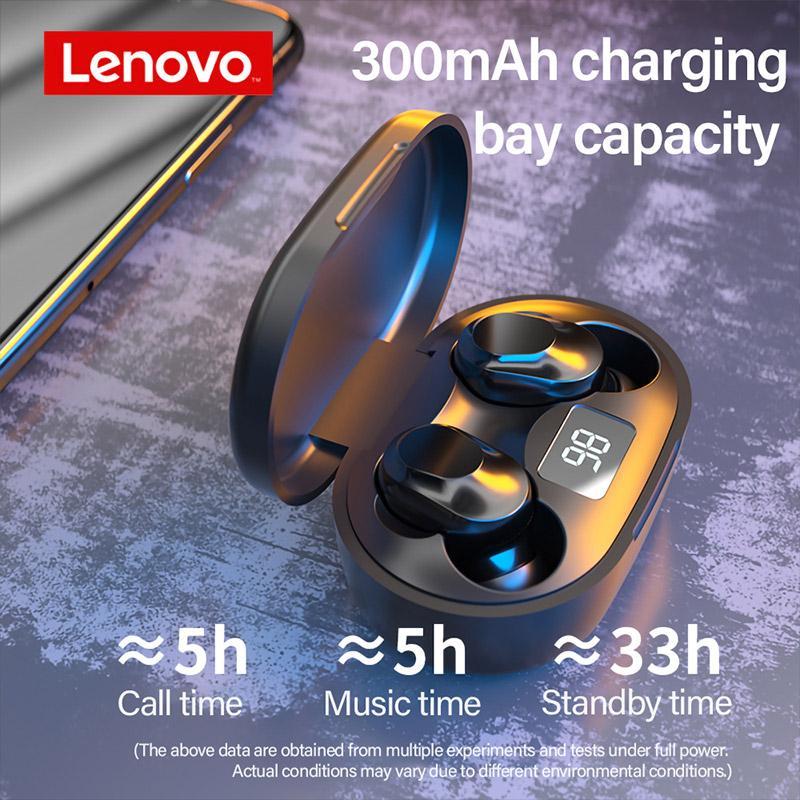 Lenovo XT91 AI Control Noise Reduction TWS Bluetooth Earphones Headphones with Mic