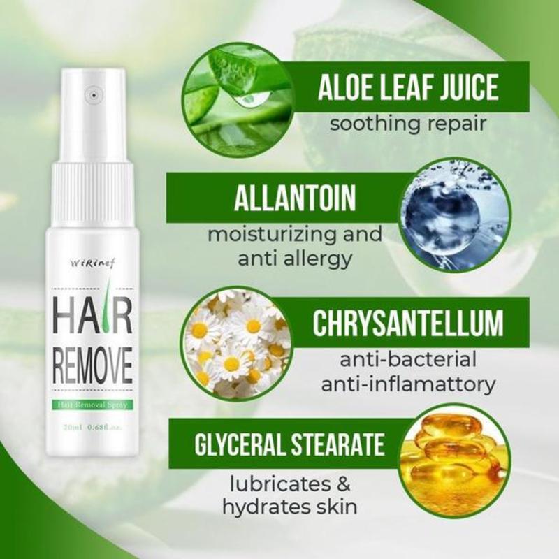 Natural Permanent Hair Removal Spray