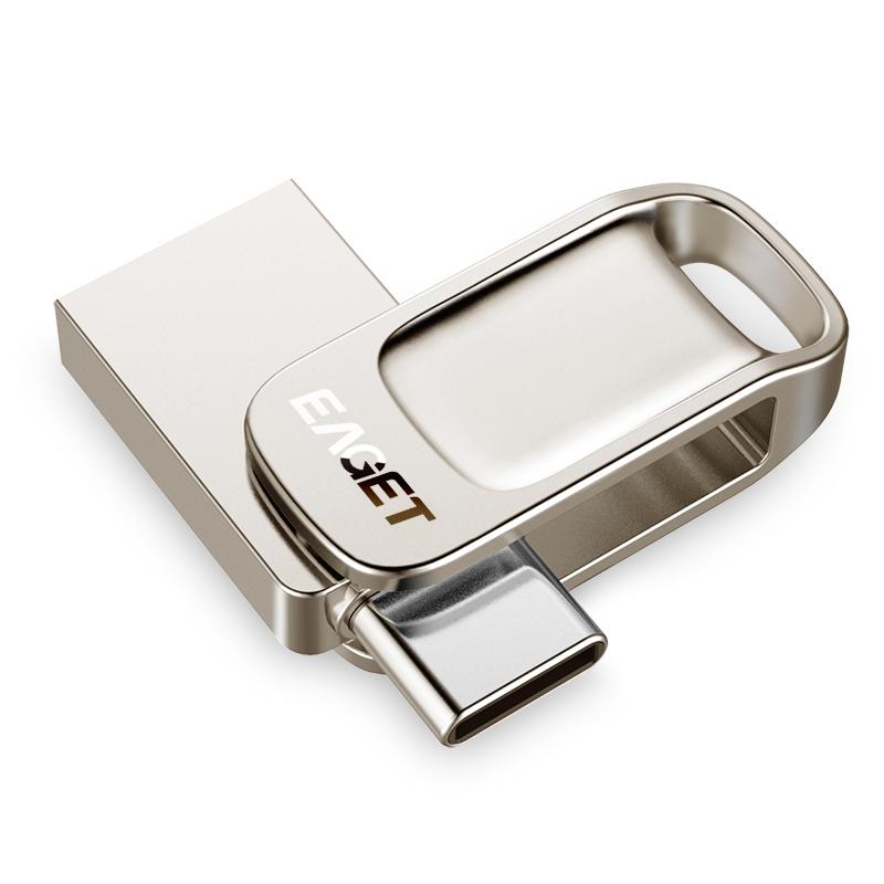 EAGET CU31 Type-C USB 3.1 32GB 64GB 128GB High Speed Flash Drive U Disk For Type-C Smart Phone Laptop MacBook