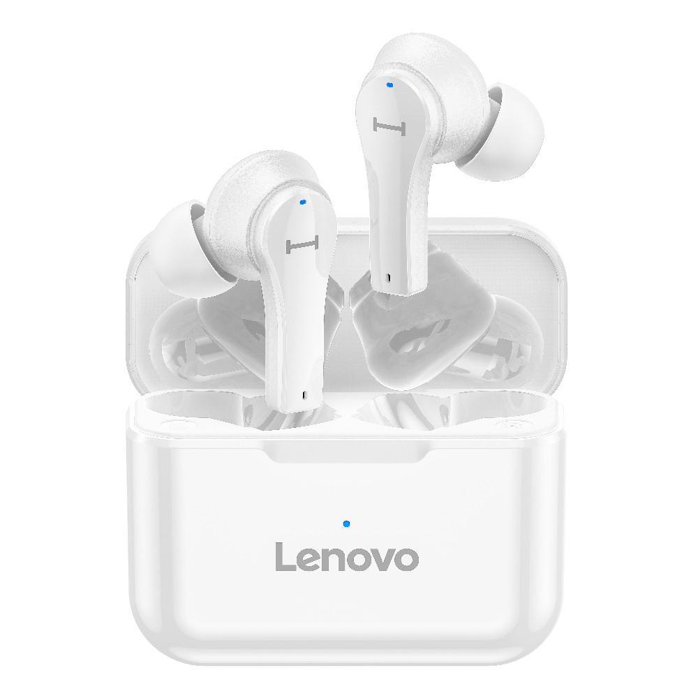 Lenovo QT82 Touch Control IPX5 Waterproof True Wireless Stereo HD Talking Earbuds Headphones
