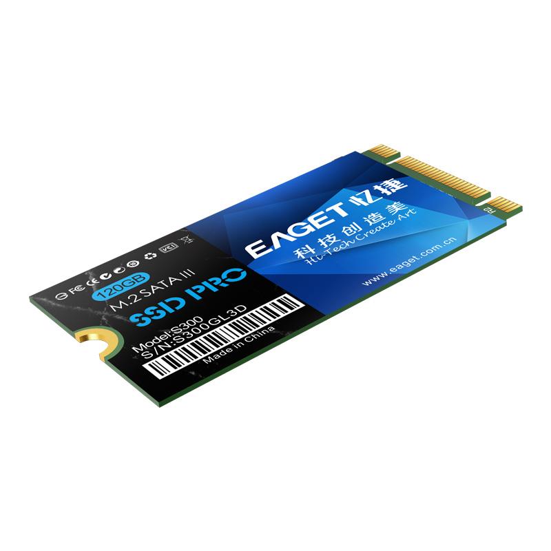 EAGET S300 SSD 128GB 256GB 512GB 1TB SSD M.2 NGFF 2242 SATA 3.0 Laptop Solid State Drive