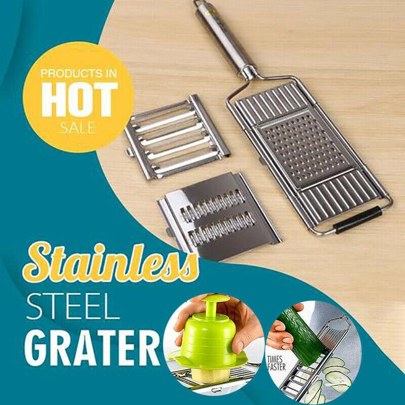 Multifunctional Stainless Steel Grater Vegetable Slicer