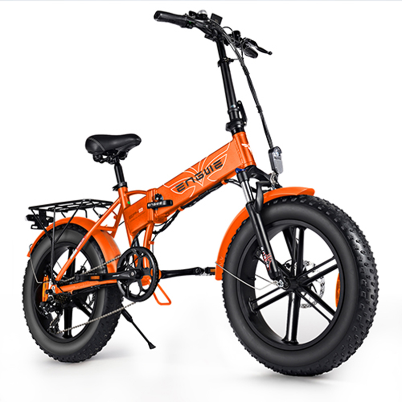 ENGWE EP-2 PRO 750W Folding Fat Tire Electric Bike with 48V 12.8Ah Lithium-ion Battery Ship from EU Warehouse