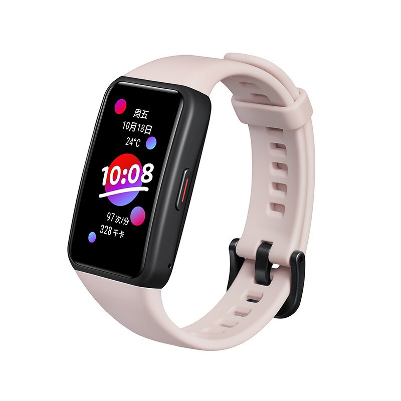 Honor Band 6 1.47 Inch AMOLED Touch Screen Professional Sports Fitness Tracker Heart Rate Blood Oxygen Monitor Long Standby Smart Watch