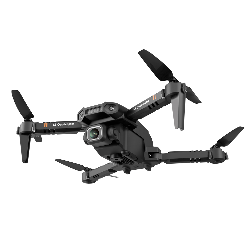 LSRC LS-XT6 Mini Foldable WiFi FPV RC Drone with 4K/1080P HD Dual Camera 12mins Flying Time RC Helicopters Quadcopter RTF