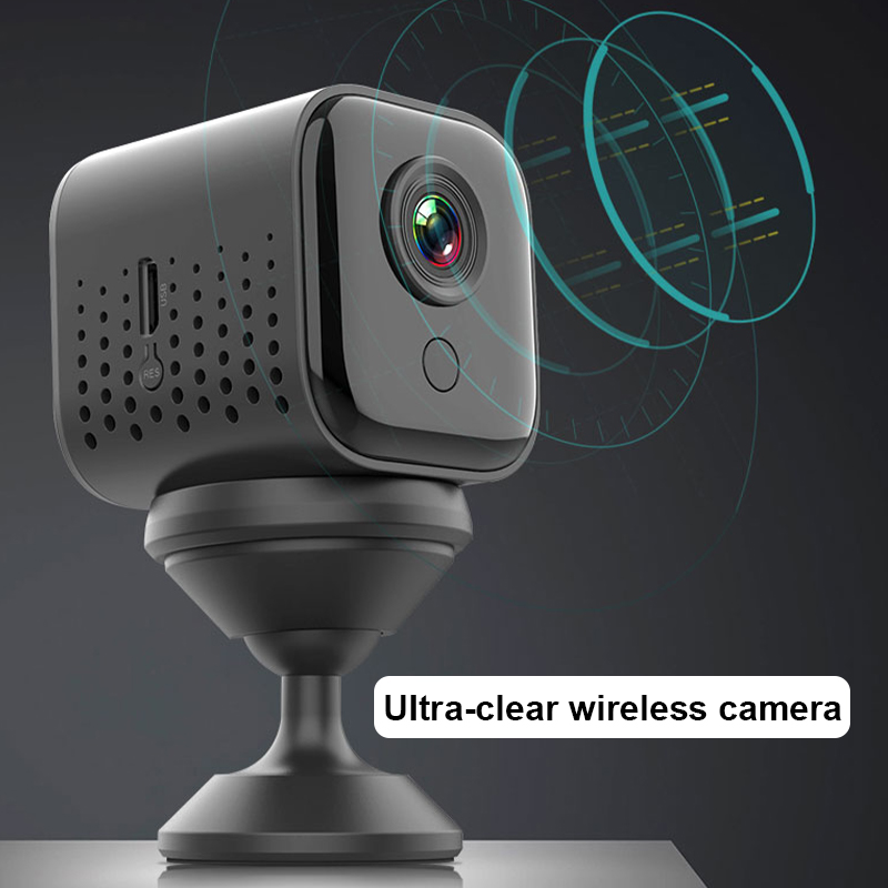 A12 WiFi Spycam Night Vision HD 1080P Wireless Hidden Security Cam Mini Camera