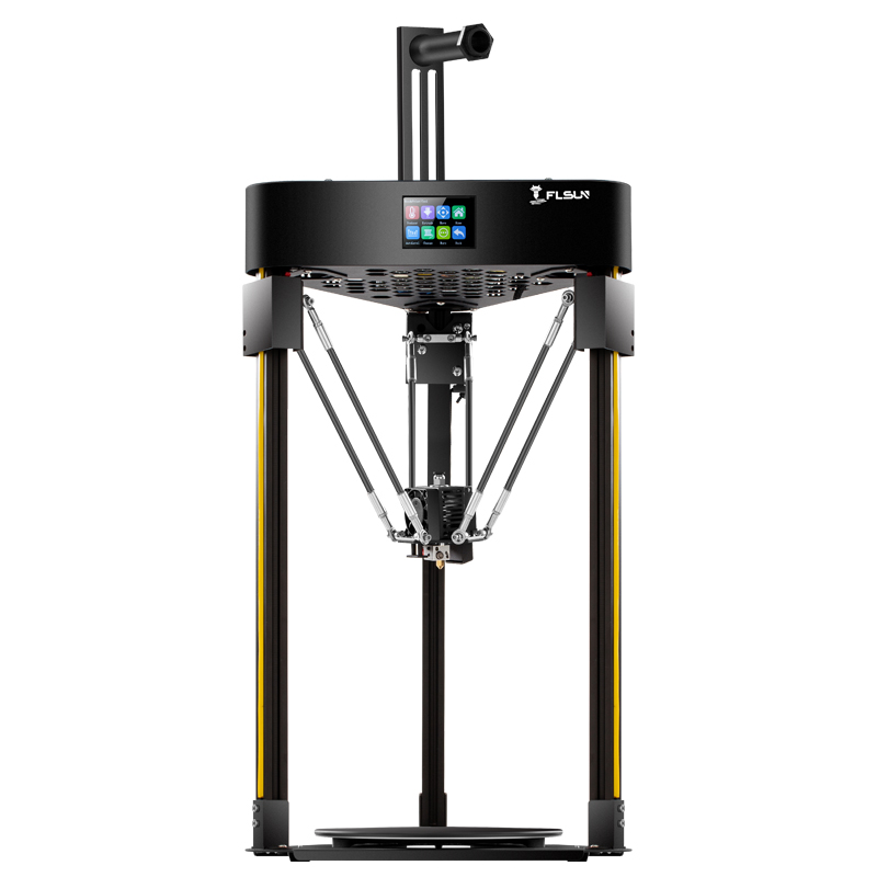 FLSUN Q5 3D Printer Delta Auto-Level Resume 32bits Board Kossel TMC 2208 Face Sheild Prusa Ship from UK Warehouse