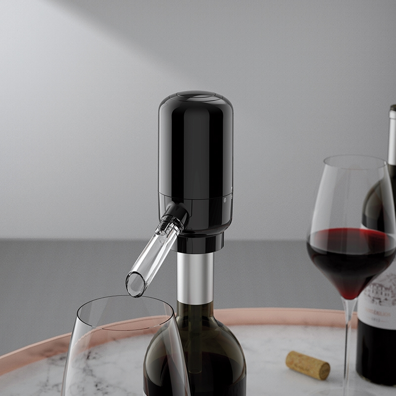 Quick Sobering Wine Pourer 2 in 1 Aerator Decanter Automatic Electric Red Wine Dispenser
