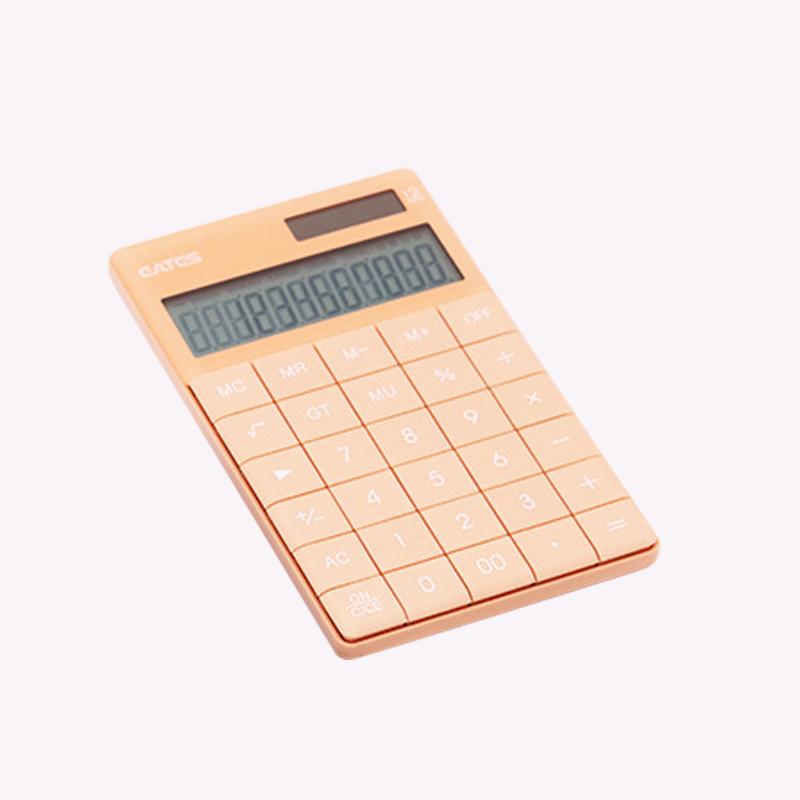 12 Digit Display Counting Machine Dual Power Solar Calculator