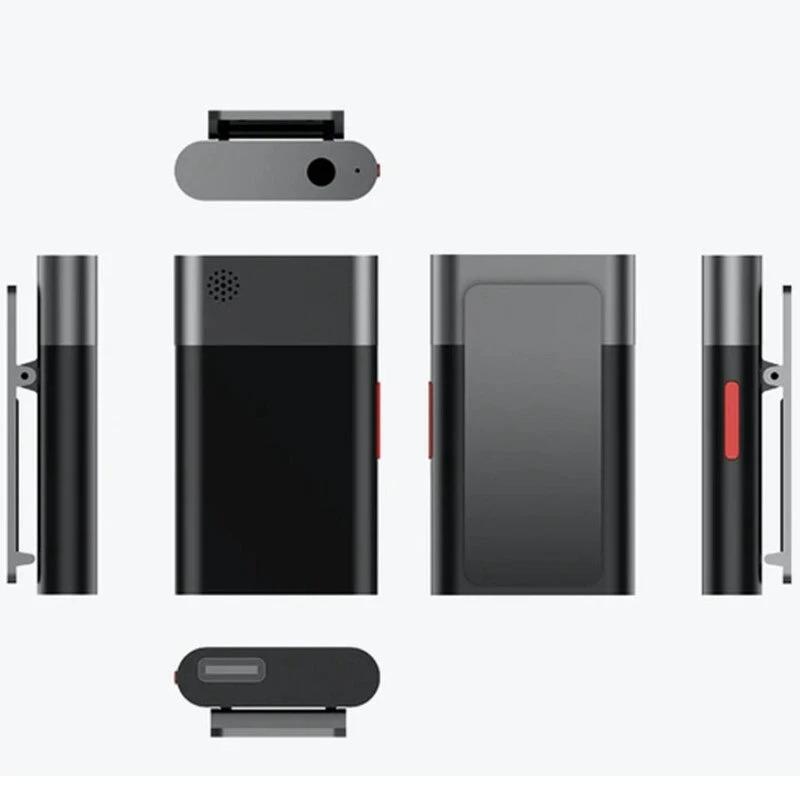 SabineTek AudioWow Bluetooth Lavalier Microphone Sound Mixer Console Clip Noisy Reduction Wireless Microphone