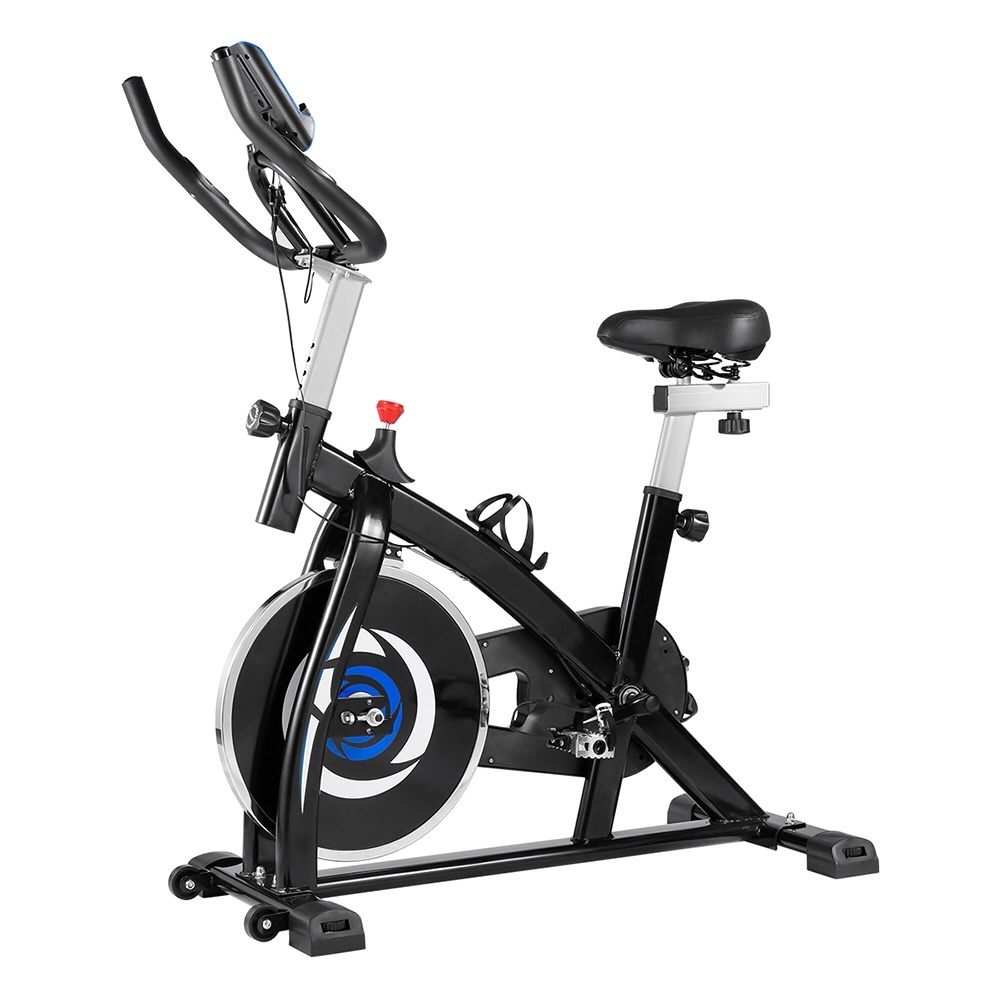 KUOKEL YS-S05 Belt Drive Adjustable Spinning Cycling Bike with Digital Monitor Ship from Poland Warehouse