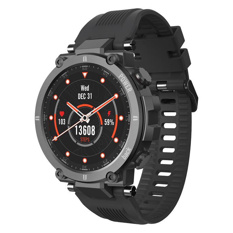 Kospet Raptor Rugged 1.3 Inch 20 Sports Modes IP68 Waterproof Dustproof Anti-collision Outdoor Smart Watch