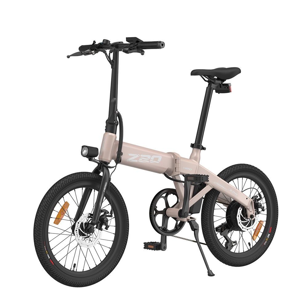 HIMO Z20 Folding Electric Bicycle 250W DC Motor Removable Battery Shimano 6-speed Transmission Smart Display Dual Disc Brake Ship from UK Warehouse