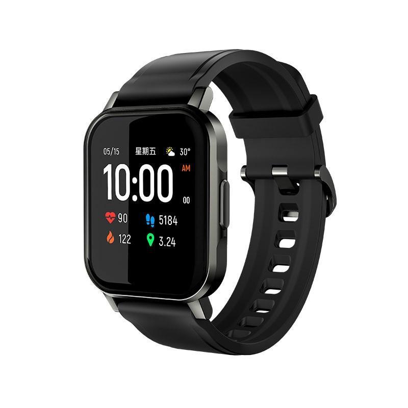 Haylou LS02 1.4 inch HD Touch Screen Bluetooth 5.0 Long Standby Wristwatch Smart Watch