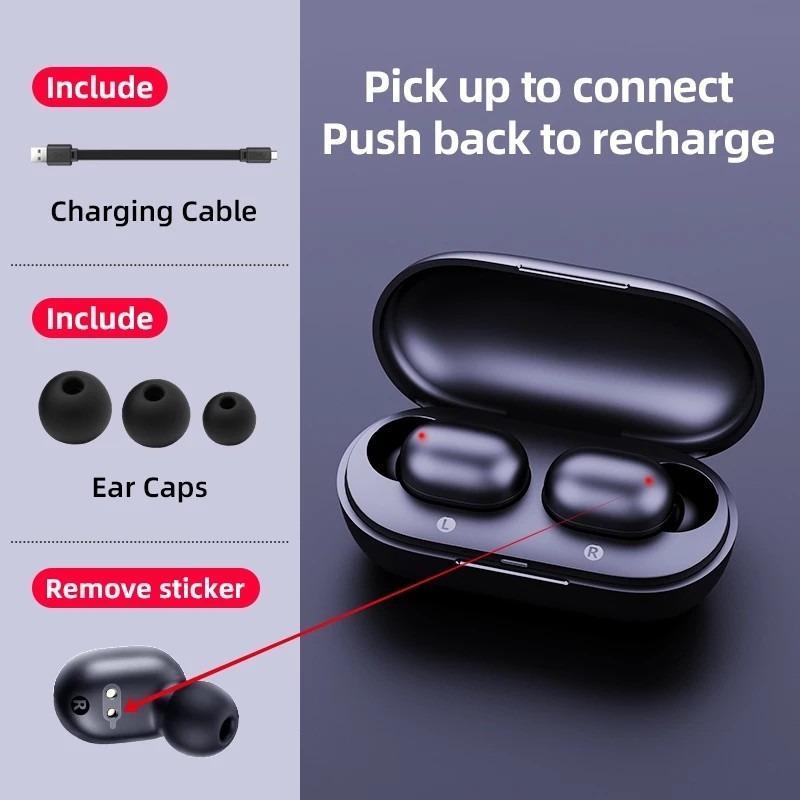 Haylou GT1 Plus IPX5 Waterproof Bluetooth 5.0 True Wireless Stereo Earbuds Headphones