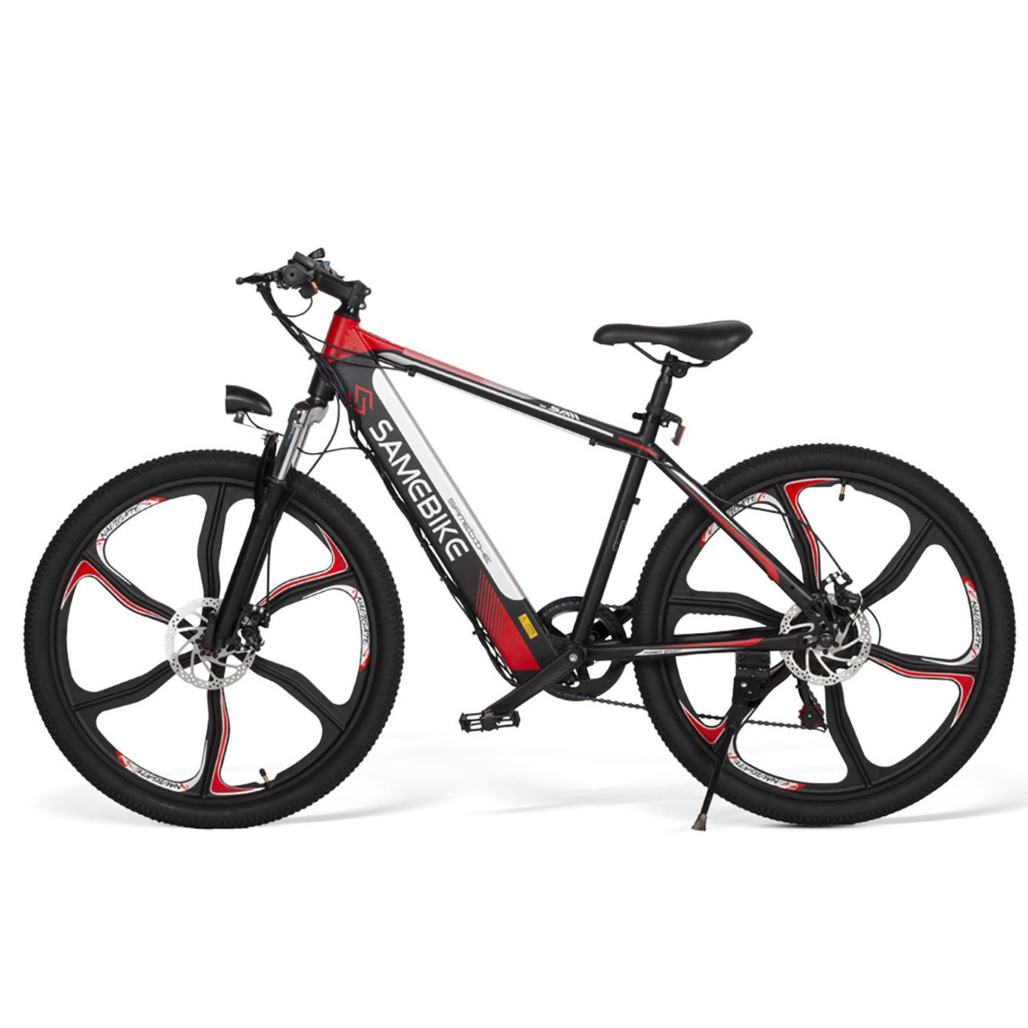 SAMEBIKE SH26 Electric Mountain Bike 26 Inch Tires 350W Motor 8Ah Battery Max 30 KPH Ship from US Warehouse