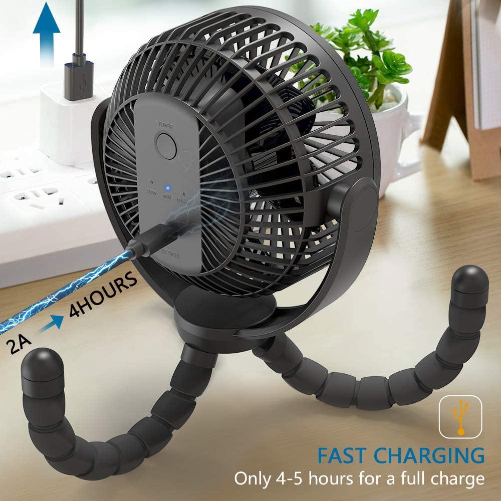 Tripod Clip Fan