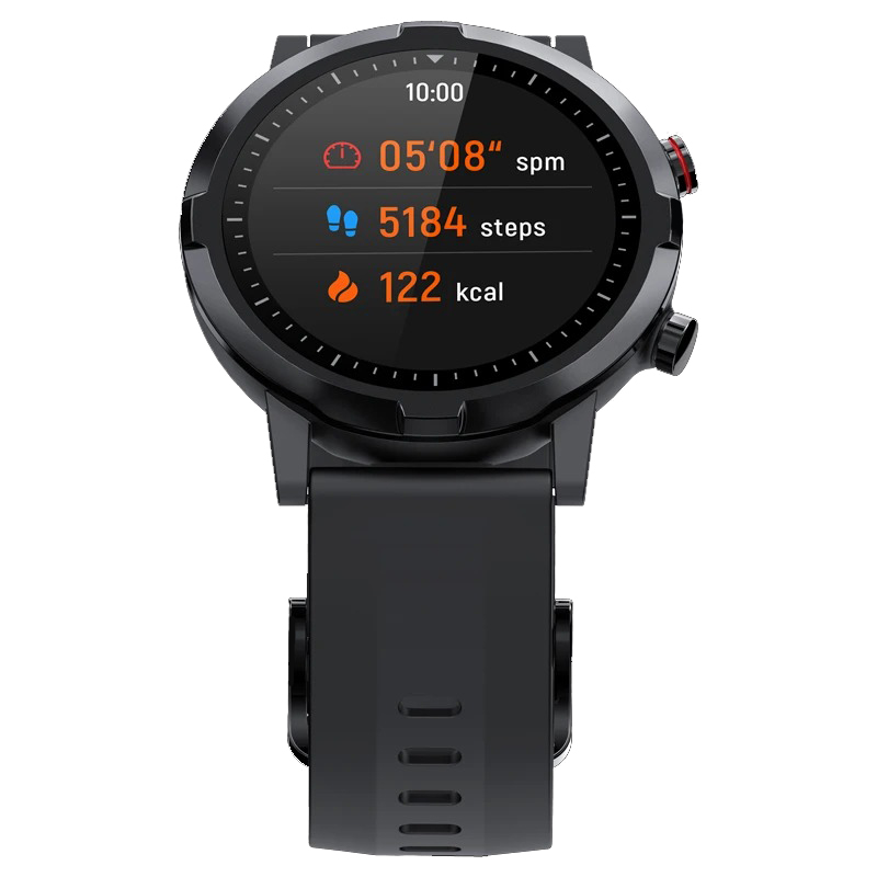 Haylou RT LS05S 1.28 Inch HD Screen 24-hour Heart Rate Monitor 12 Sport Modes 20 Days Standby BT 5.0 Smart Watch Global Version