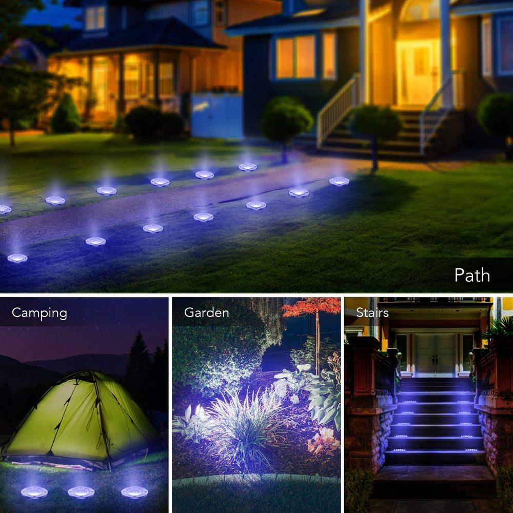 Waterproof Solar Ground Light
