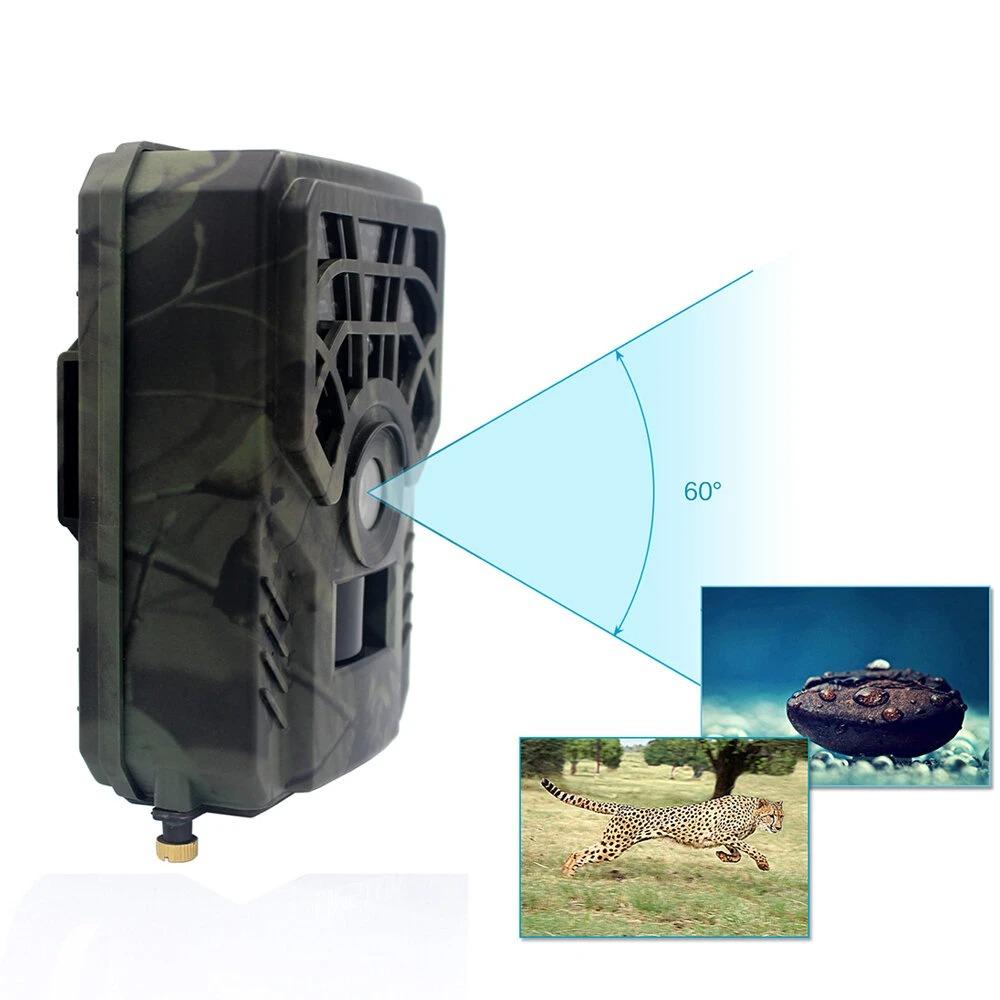 PR300C Waterproof HD Animal Hunting Trail Camera Heat Sensing Night Vision Infrared Camera