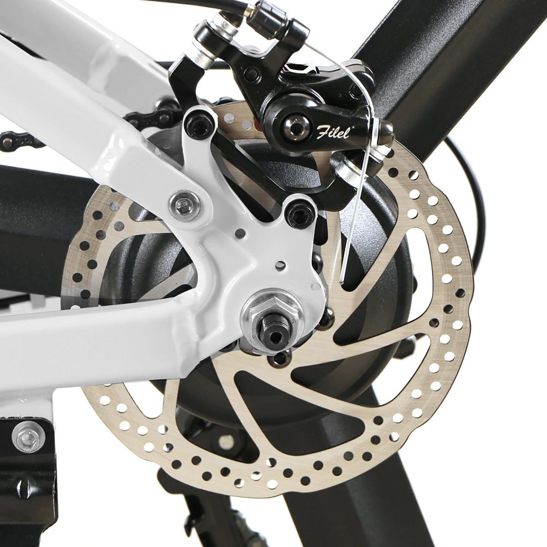 SAMEBIKE LO26 Bicicletta elettrica pieghevole Pneumatici da 26 pollici Motore da 350 W Batteria da 10,4 Ah Max 35 KPH Nave da magazzino Polonia
