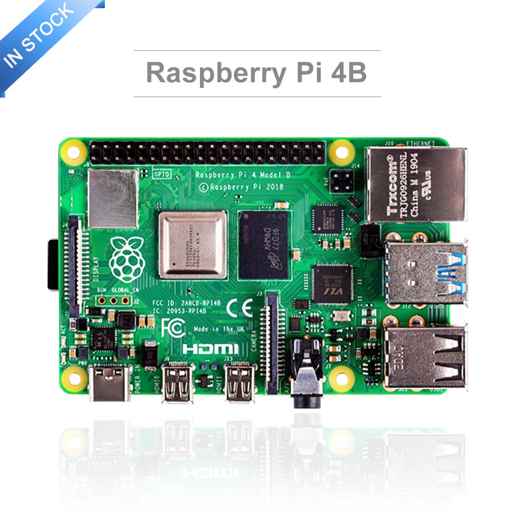 Raspberry Pi 4 Model B Motherboard with 2GB 4GB 8GB RAM BCM2711 Quad Core Cortex-A72 ARM V8 1.5GHz