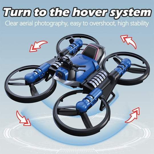 2 IN 1 MOTORCYCLE DRONE