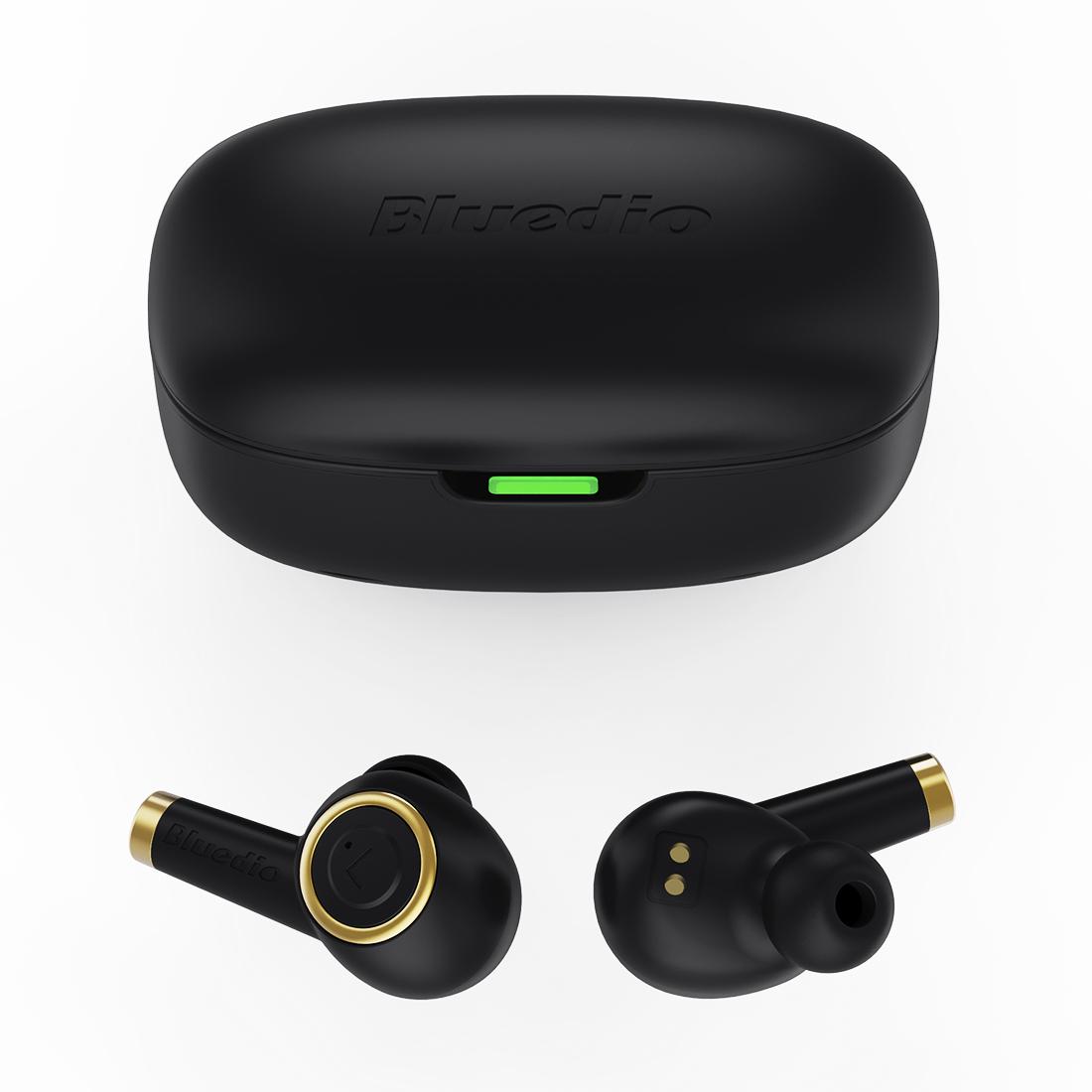 Bluedio Particle Waterproof Low Latency True Wireless Stereo Earbuds Headphones
