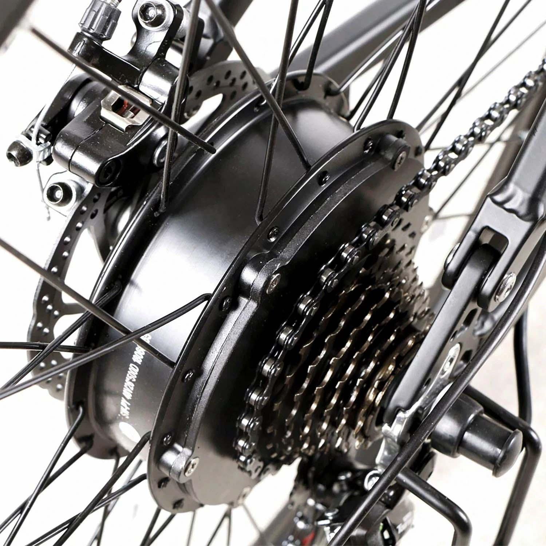 SAMEBIKE LO26-FT 500W Motor Folding Electric Bike 26 Inch Tires 10.4Ah Battery Max 35 KPH Ship from UK Warehouse