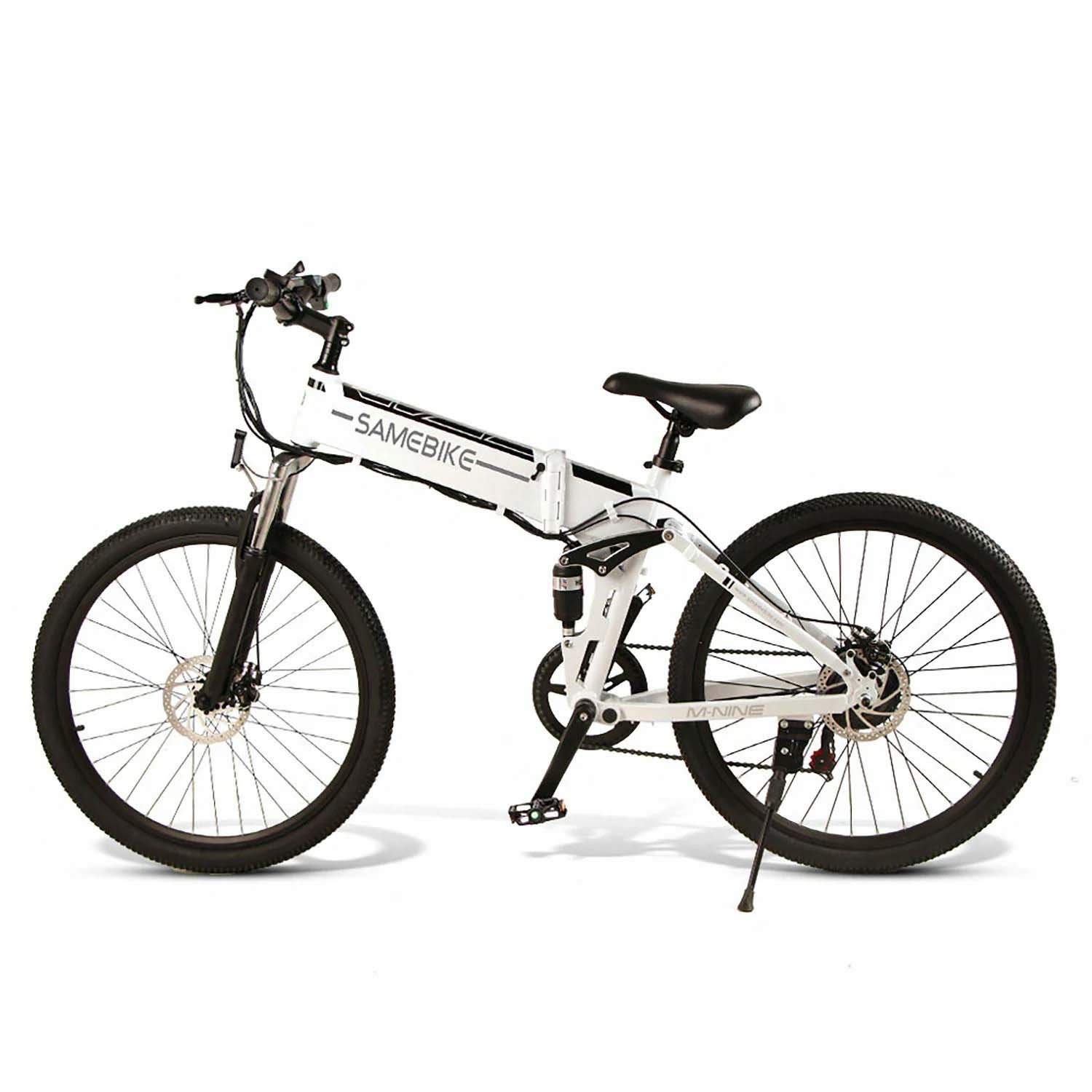 SAMEBIKE LO26-FT 500W Motor Folding Electric Bike 26 Inch Tires 10.4Ah Battery Max 35 KPH Ship from Poland Warehouse