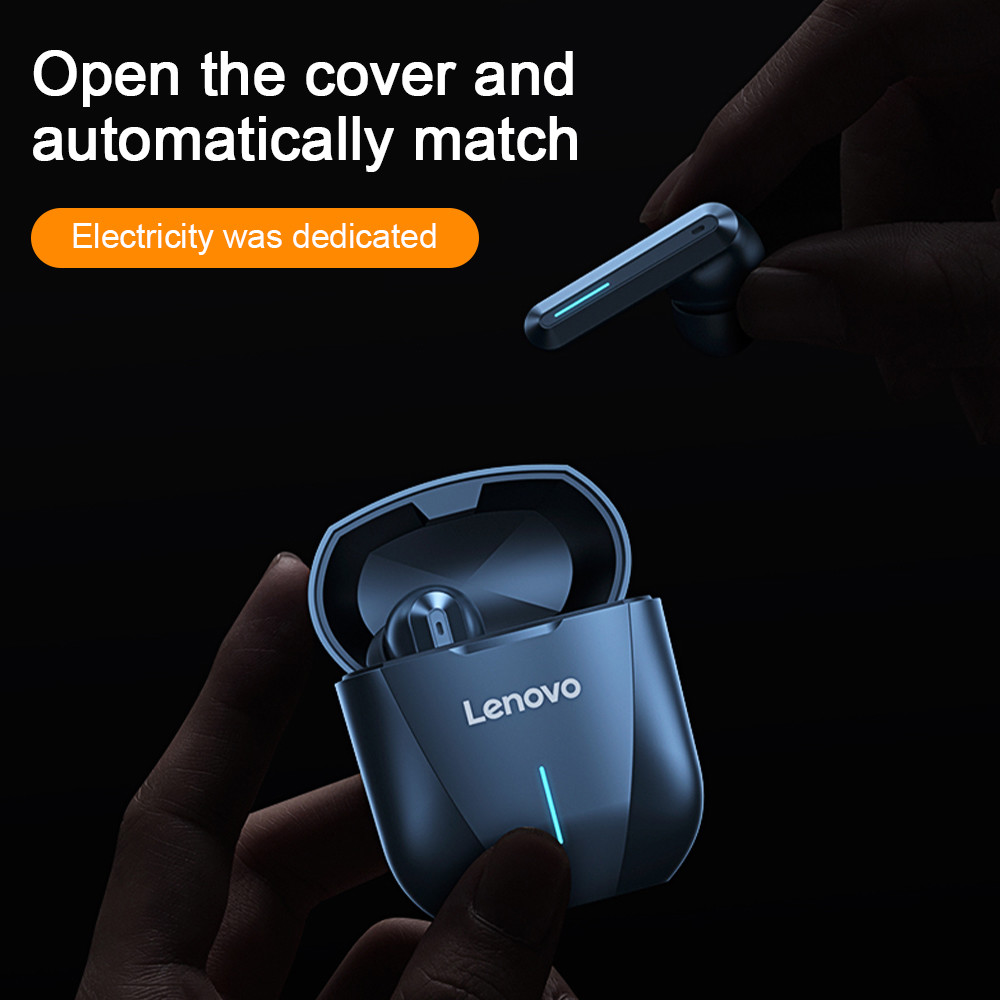 Lenovo XG01 Gaming Earbuds HiFi 50ms Low Latency Waterproof True Wireless Stereo Bluetooth Earphone with Mic