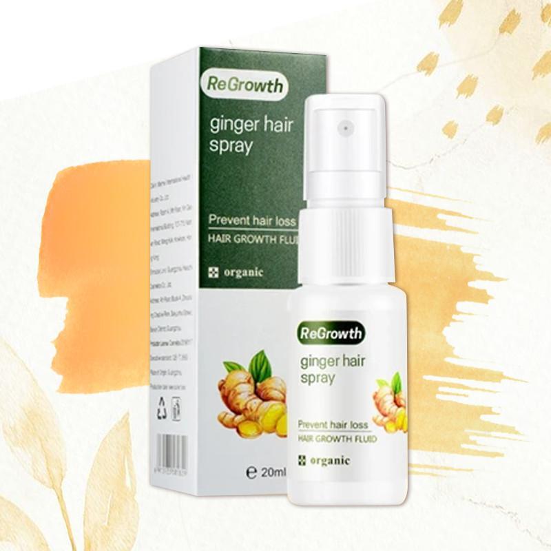 HairSOS Plus Regrowth Ginger Spray
