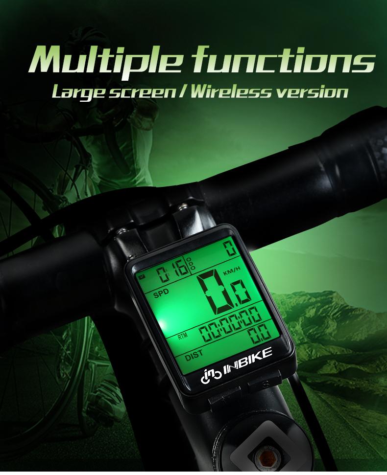 Waterproof Bike Computer Speedometer