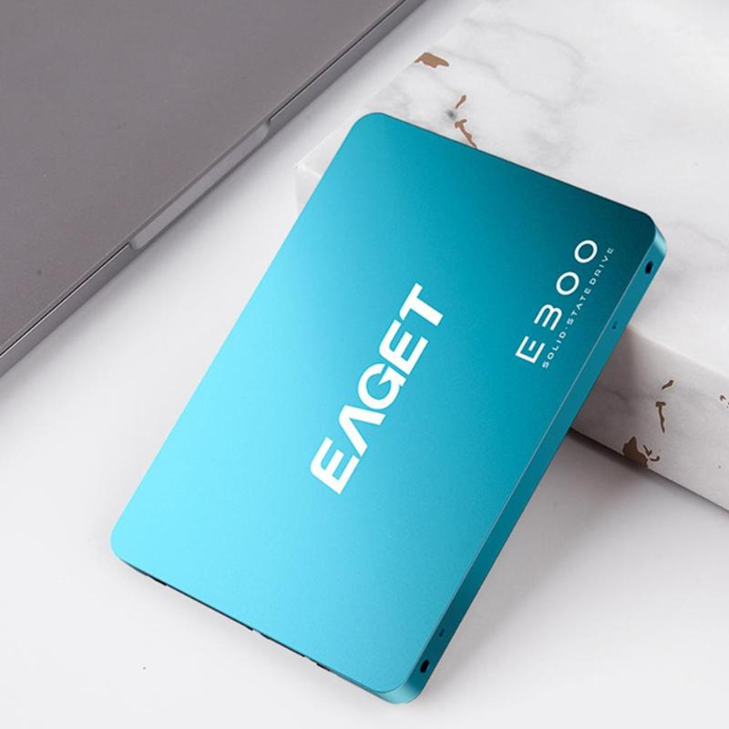 EAGET E300 120GB 240GB 480GB 2.5 Inch SATA 3.0 SSD Hard Drive Disk for Desktop Laptop PC Internal Solid State Drive