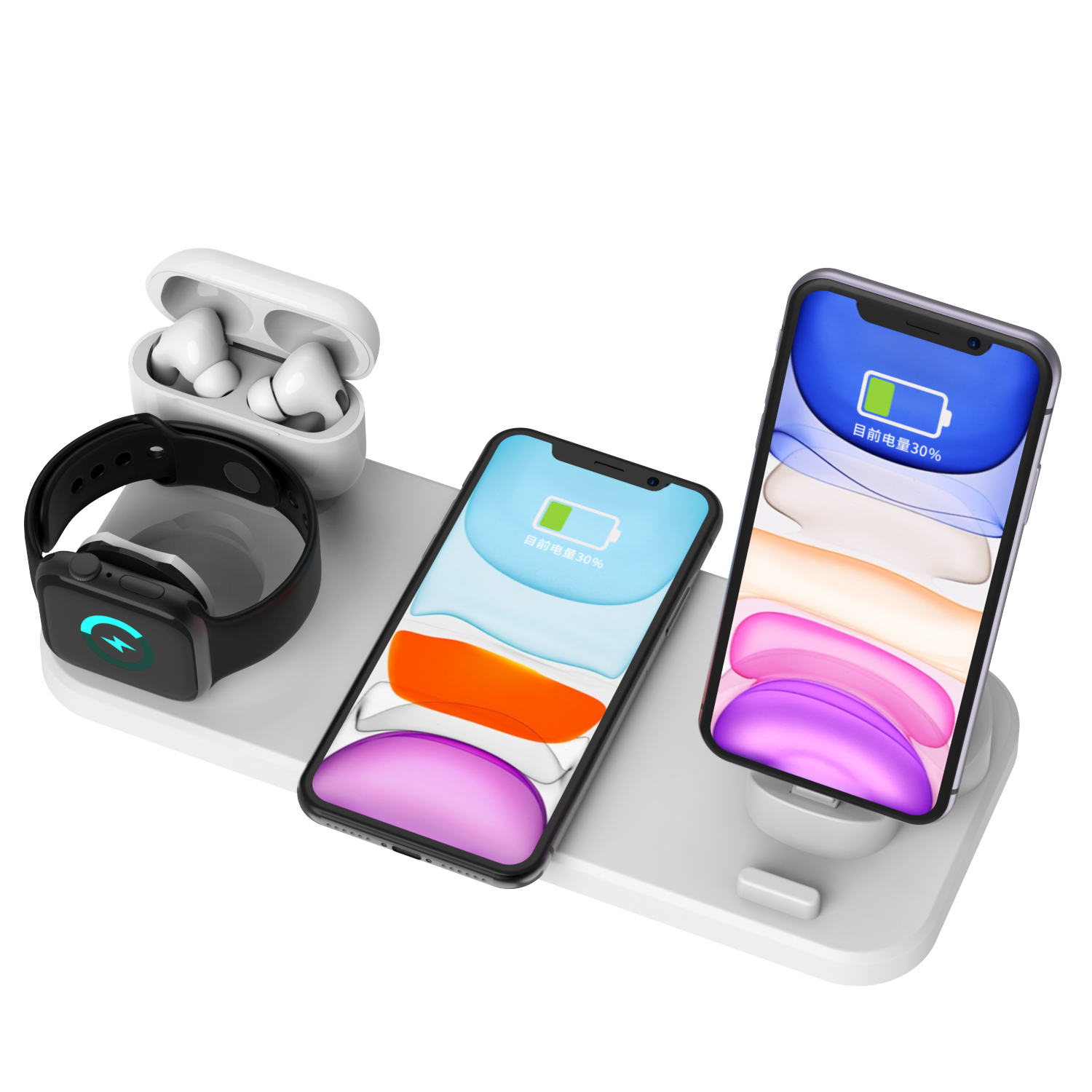 6 in 1 Multifunction Wireless Charging Station