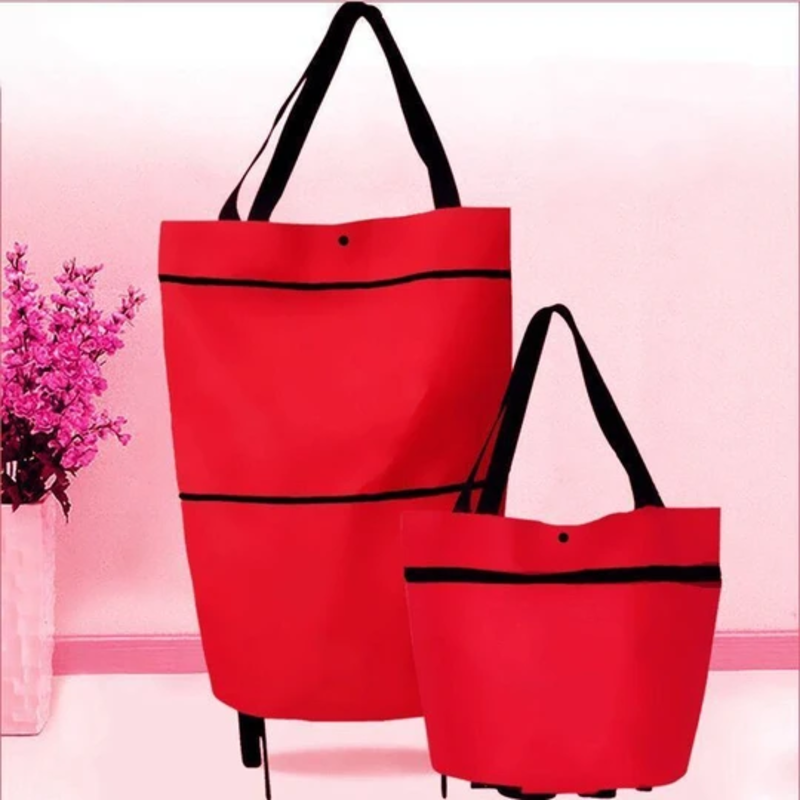 2 In 1 Foldable Shopping Cart