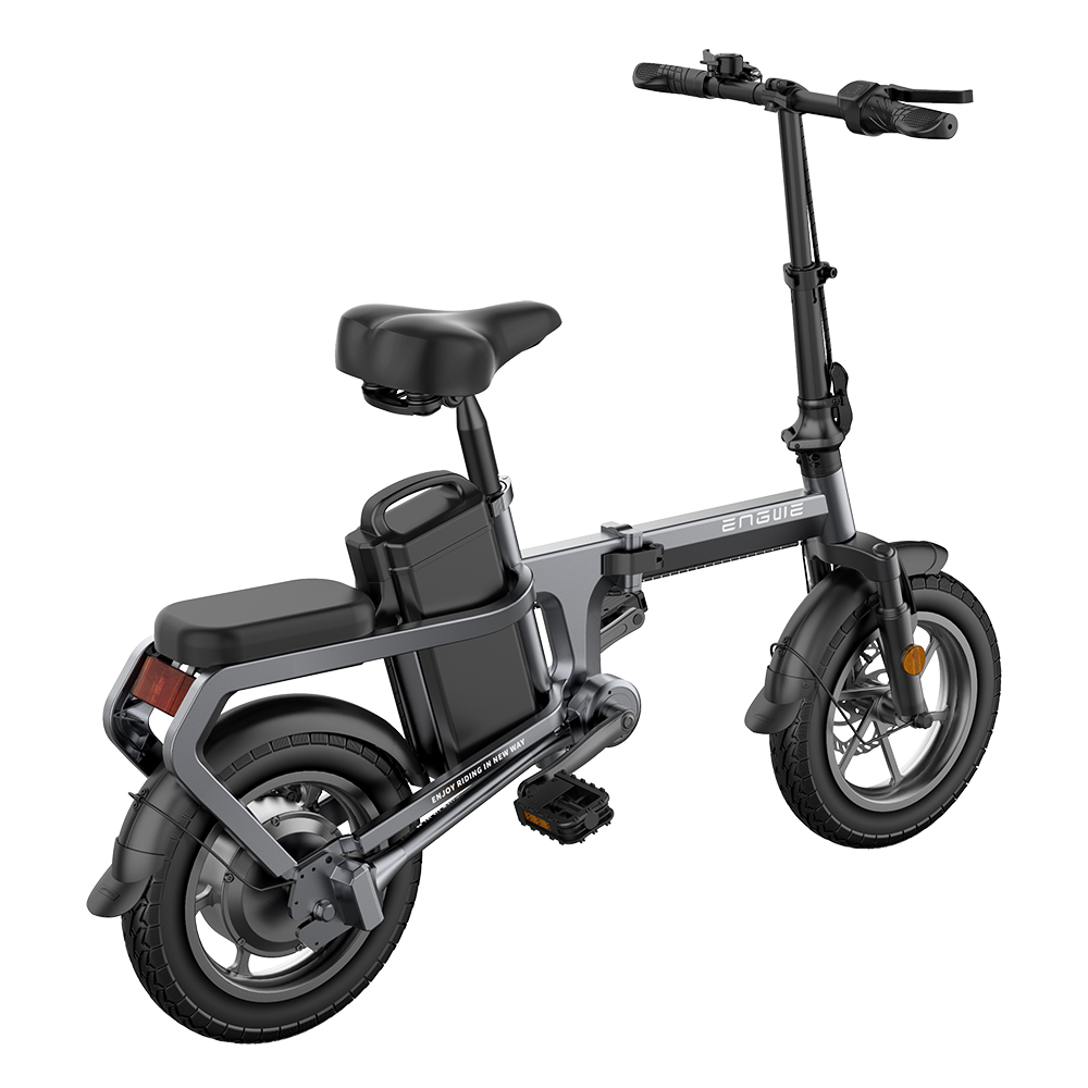 ENGWE X5S Chainless Folding Electric Bike with 20A Removable Battery Ship from US Warehouse