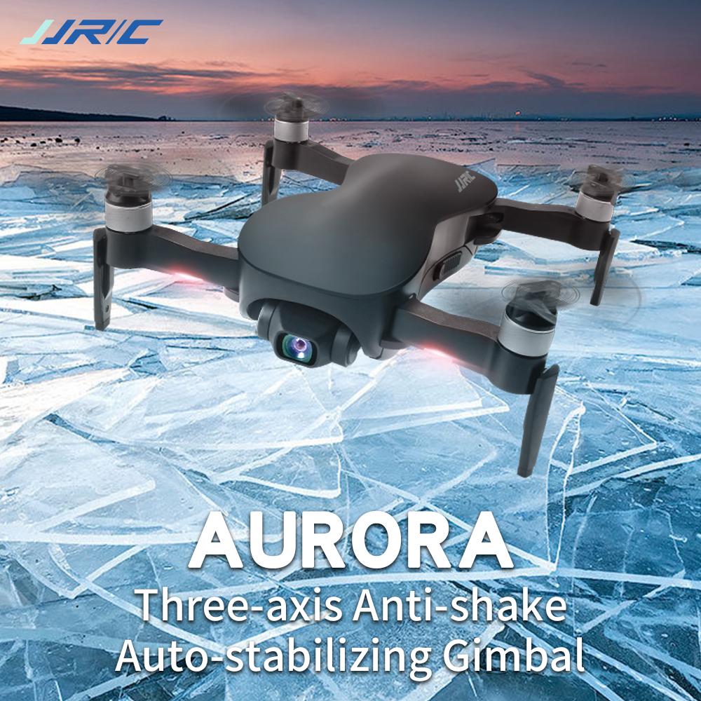 JJRC X12 Aurora 5G WiFi FPV Brushless Motor 1080P/4K HD Camera GPS Dual Mode Positioning Quadcopter RTF Foldable RC Drone