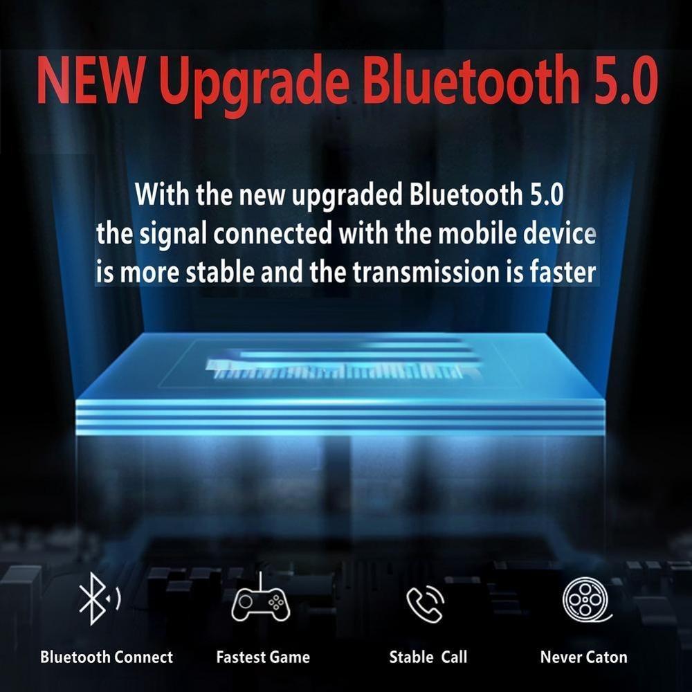 Lenovo HX106 Bluetooth 5.0 Business Wireless Ear Hook Headphones with Microphone