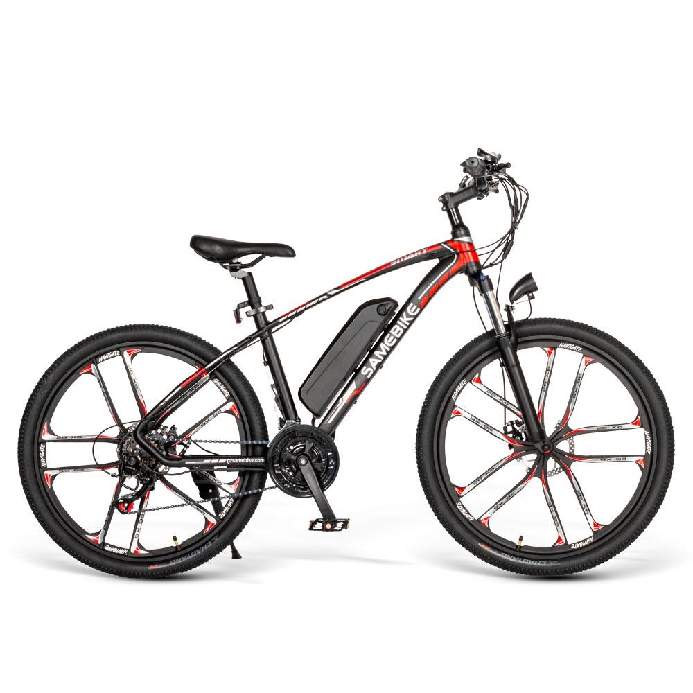 SAMEBIKE MY-SM26 26 Inch MTB Bicycle Electric Mountain Bike Ship from US Warehouse