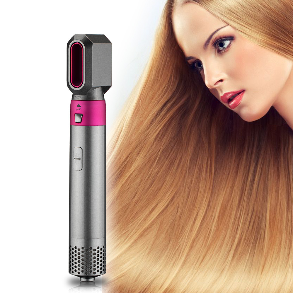 5 in 1 Multifunctional Big Wave Curling Iron Hot Tools Hair Care Tool Set