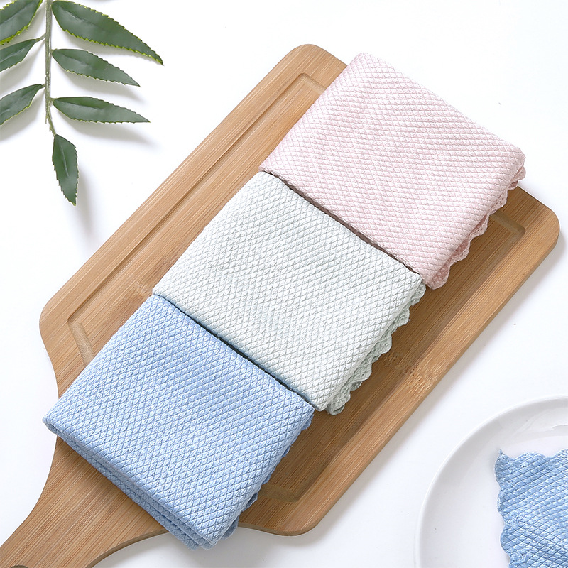 Fish Scale Microfiber Polishing Cleaning Cloth - (Early Mother's Day Hot Sale-50% OFF)