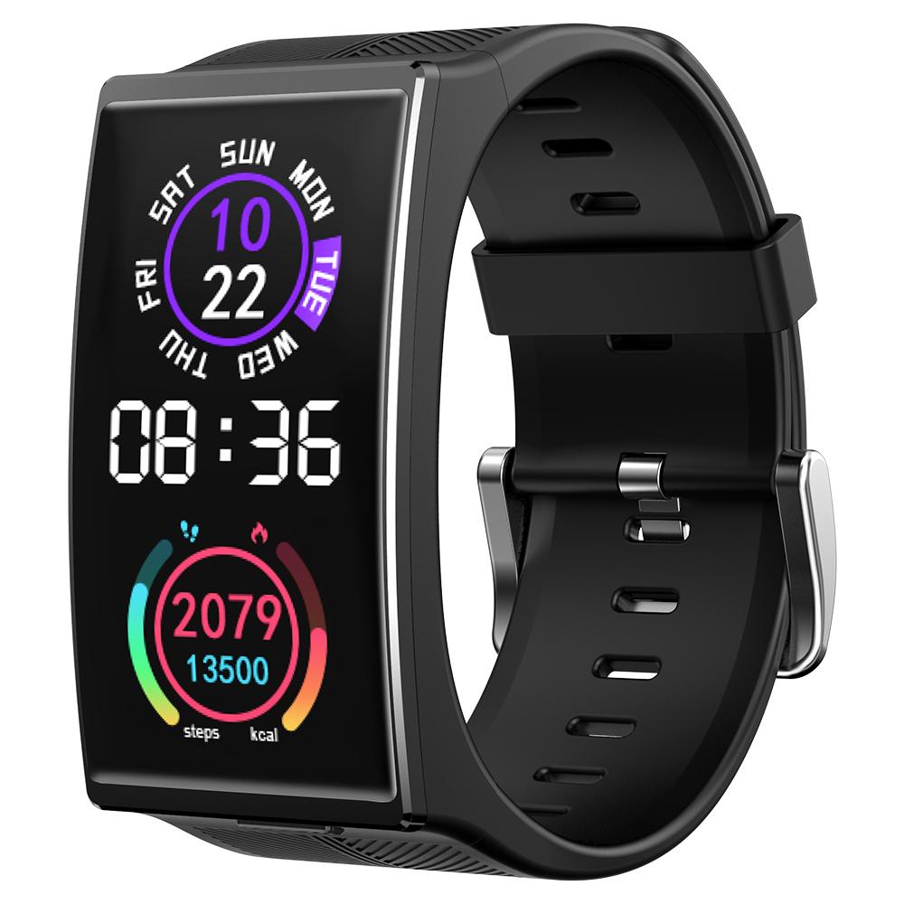 TICWRIS GTX 300mAh Bluetooth Waterproof Blood Pressure Sport Fitness Wristband Men Smart Watch