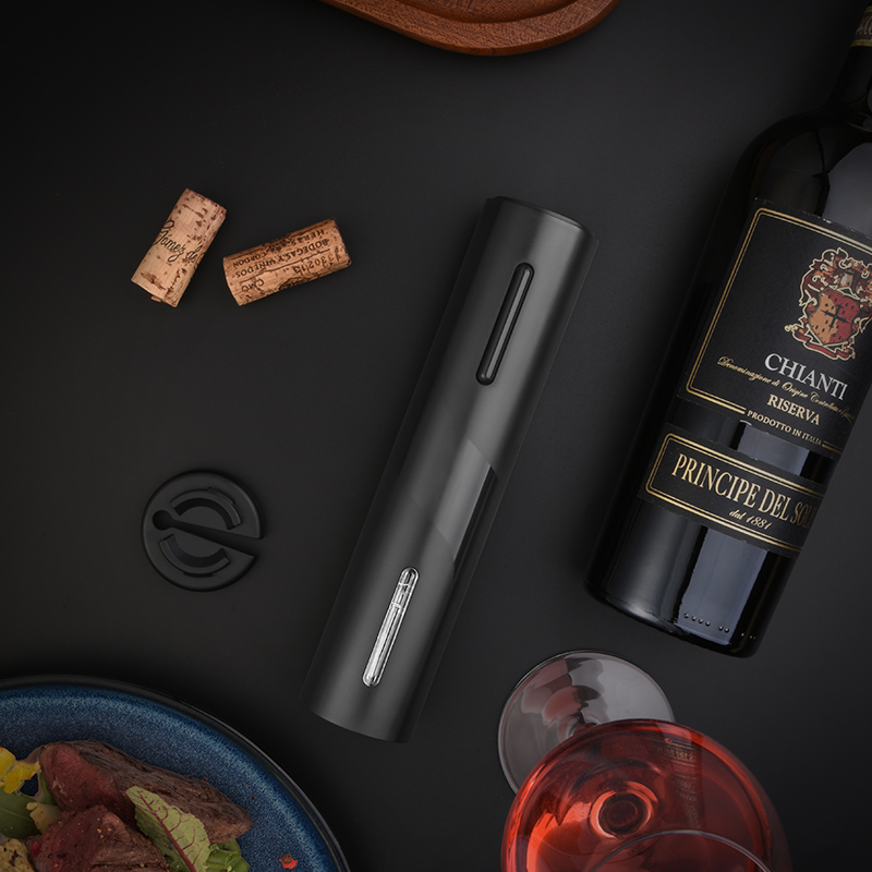 Quelima Second Generation USB Rechargeable Electric Wine Opener Kitchen Tool