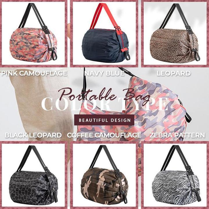 Foldable Travel One-shoulder Portable Shopping Bag
