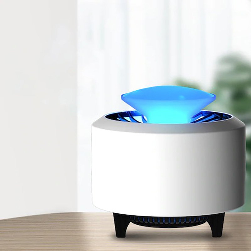 360° All-round LED Glare Mosquito Killer Light Photocatalyst USB Mute Mosquito Lamp