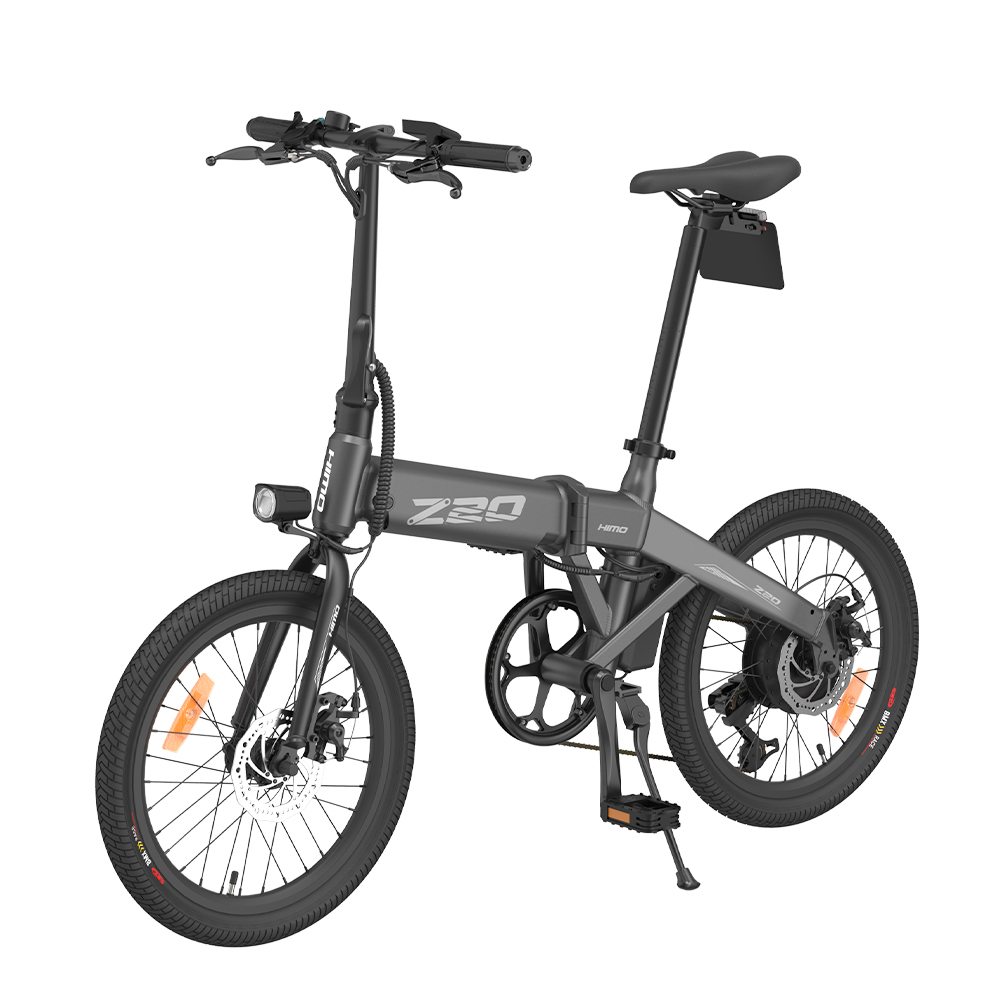 HIMO Z20 Folding Electric Bicycle 250W DC Motor Removable Battery Shimano 6-speed Transmission Smart Display Dual Disc Brake Ship from EU Warehouse