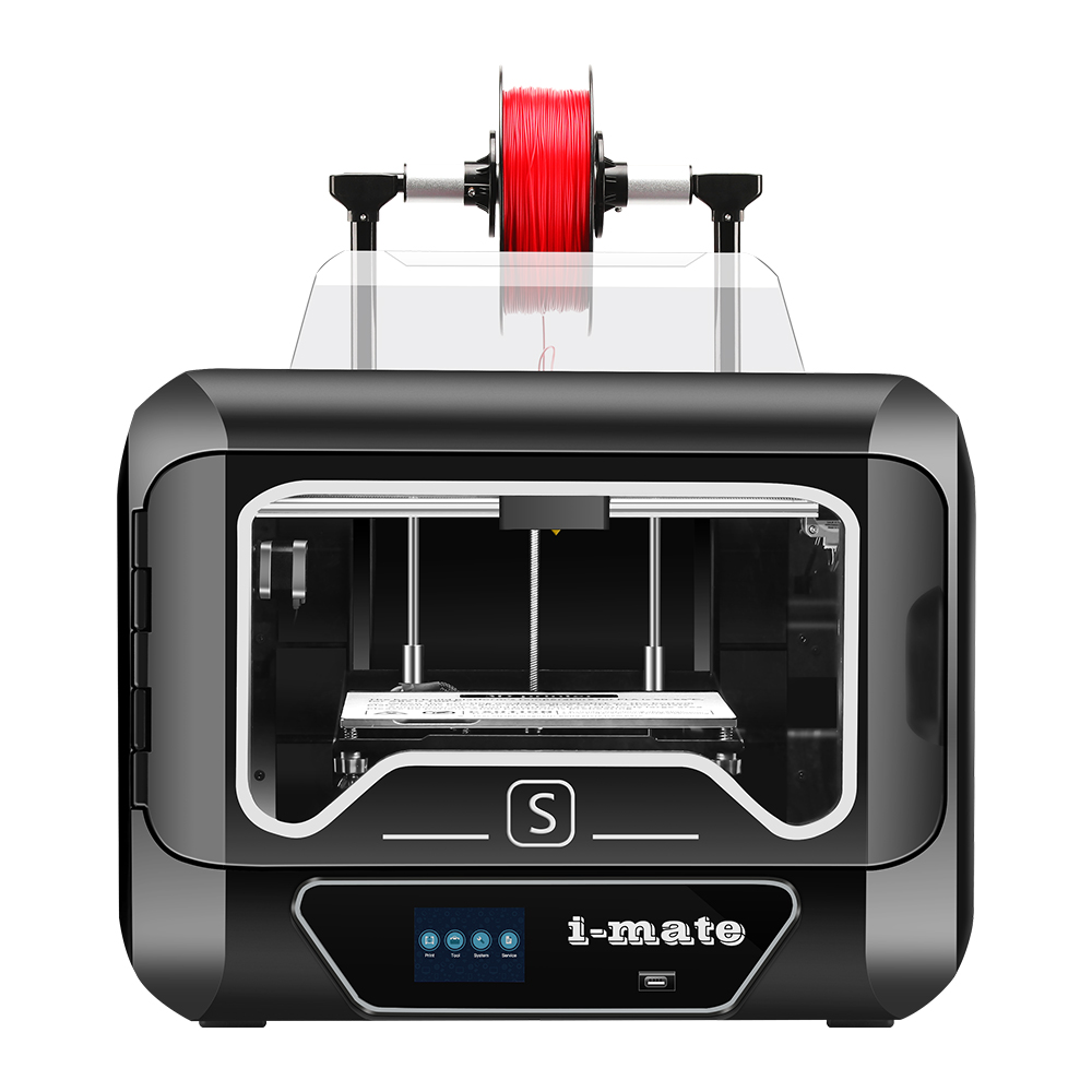 QIDI TECH i-MATES Get Extra 0.2mm Extruder 270*200*200mm Large Build Size 3D Printer Ship from EU Warehouse